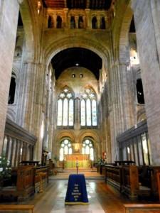 Romsey Abbey interior