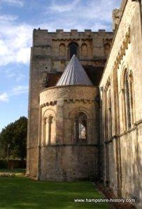 Romsey Abbey Hampshire