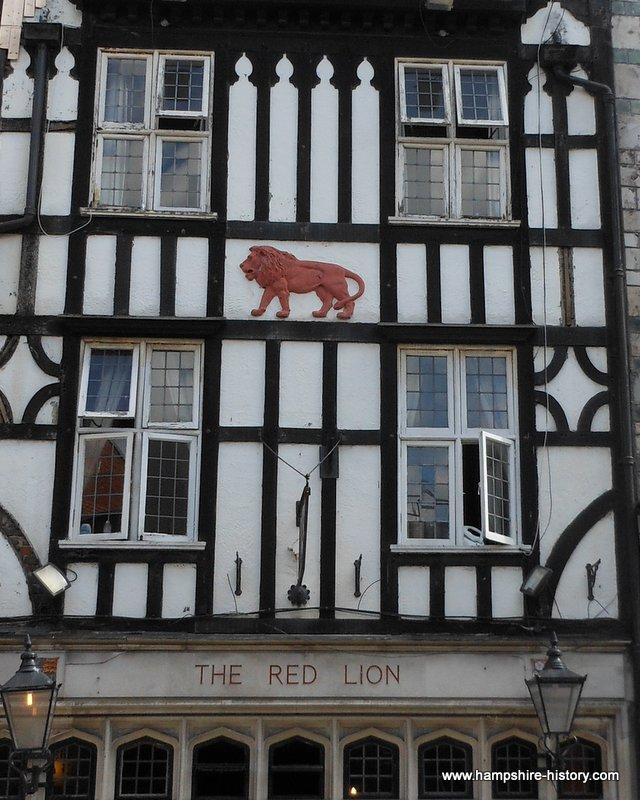 Red Lion The SouthamptonPlot