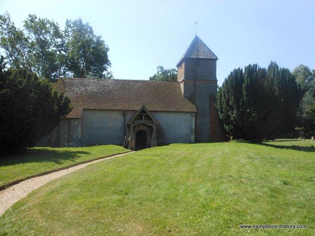 St Mary the Virgin Church Greywell