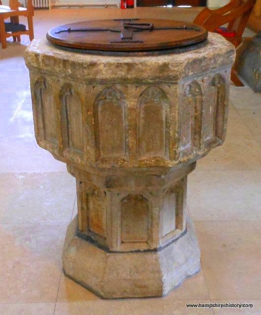 Baptismal Font Petersfield