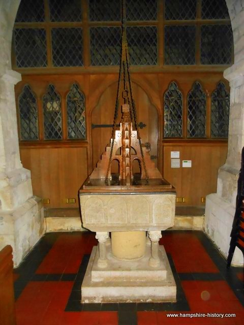 Baptismal Font Bentley