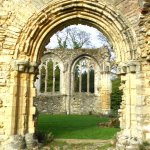 Netley Abbey Arches Hampshire