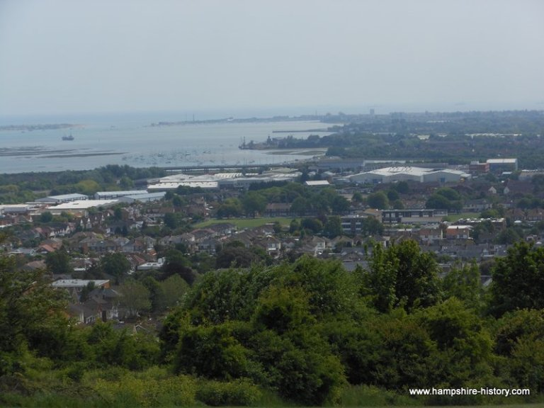 View of Portsmouth Harbour