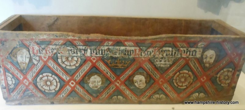Earlier Mortuary Box Winchester Cathedral