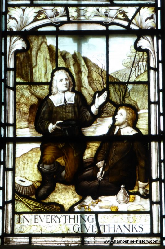 Izaak Walton in Hampshire