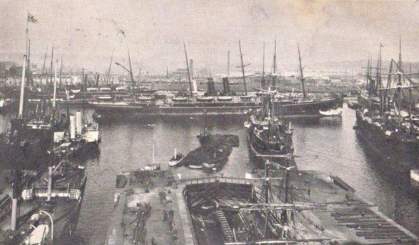 Southampton Docks 1902