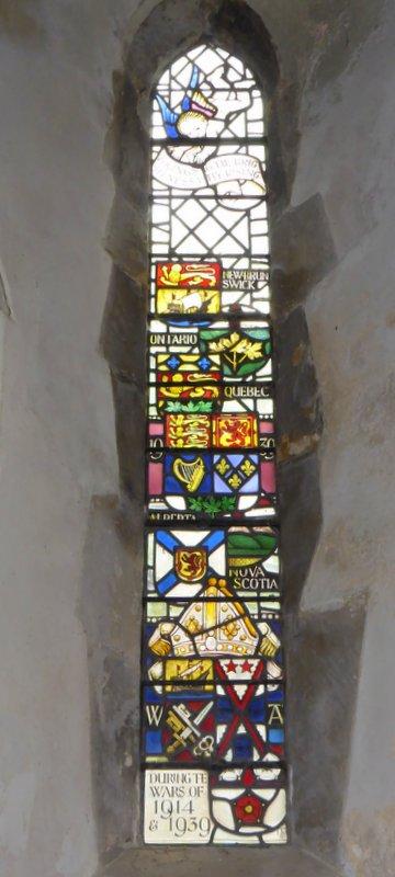 Canadian window Bramshott church