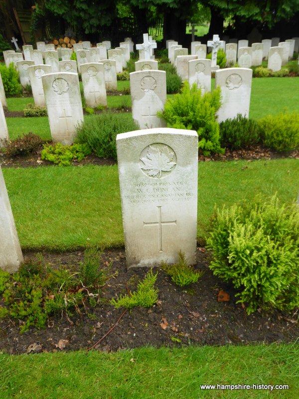 Commonwealth Wargraves at Bramshott