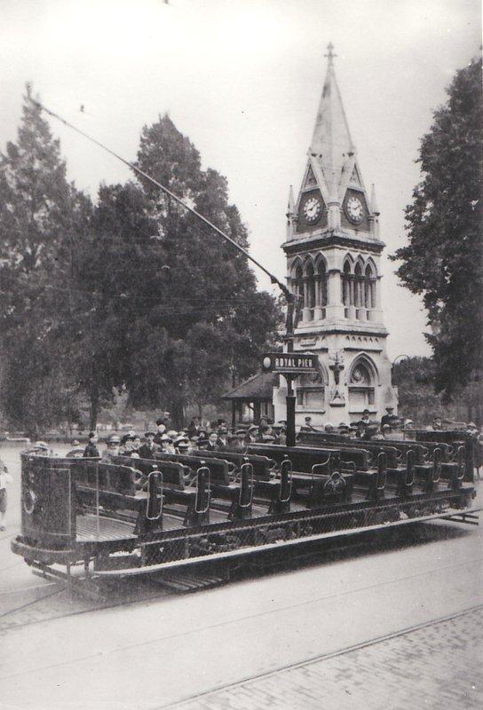 Southampton Toast Rack Tram 1916