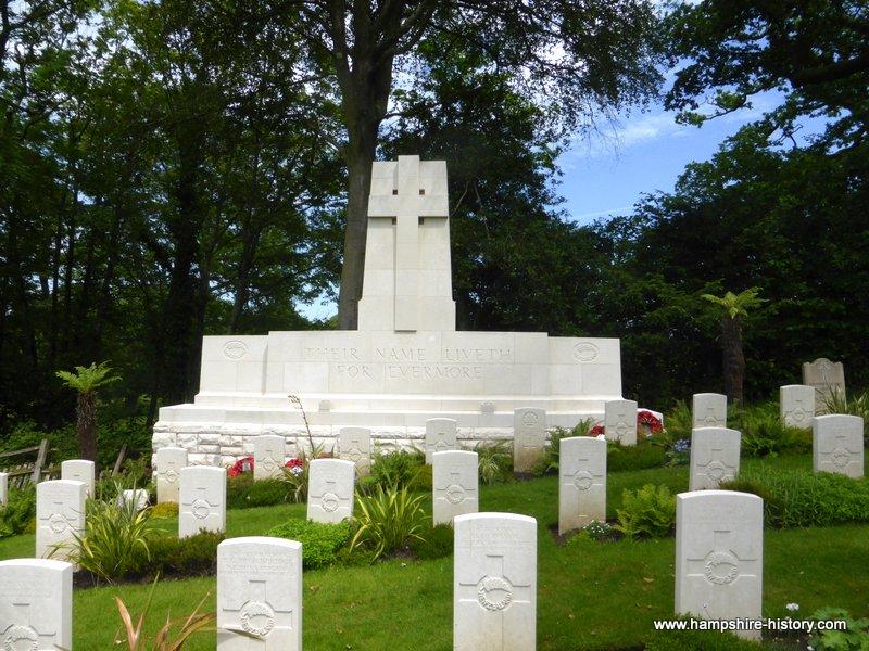The New Zealand Cemetery at Brockenhurst