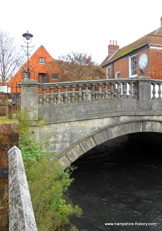 St Swithun's Crossing Winchester