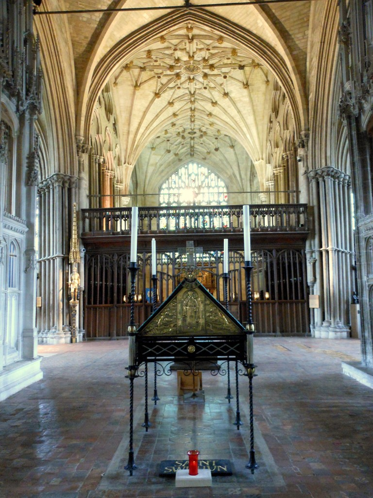 St Swithun's Shrine Winchester Cathedral
