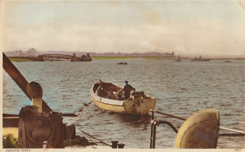 The Hayling Ferry 1922