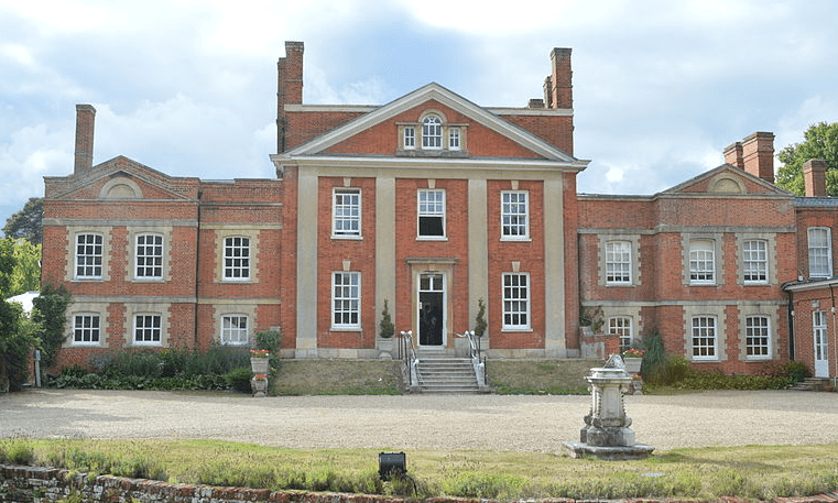 Warbrook House and John James