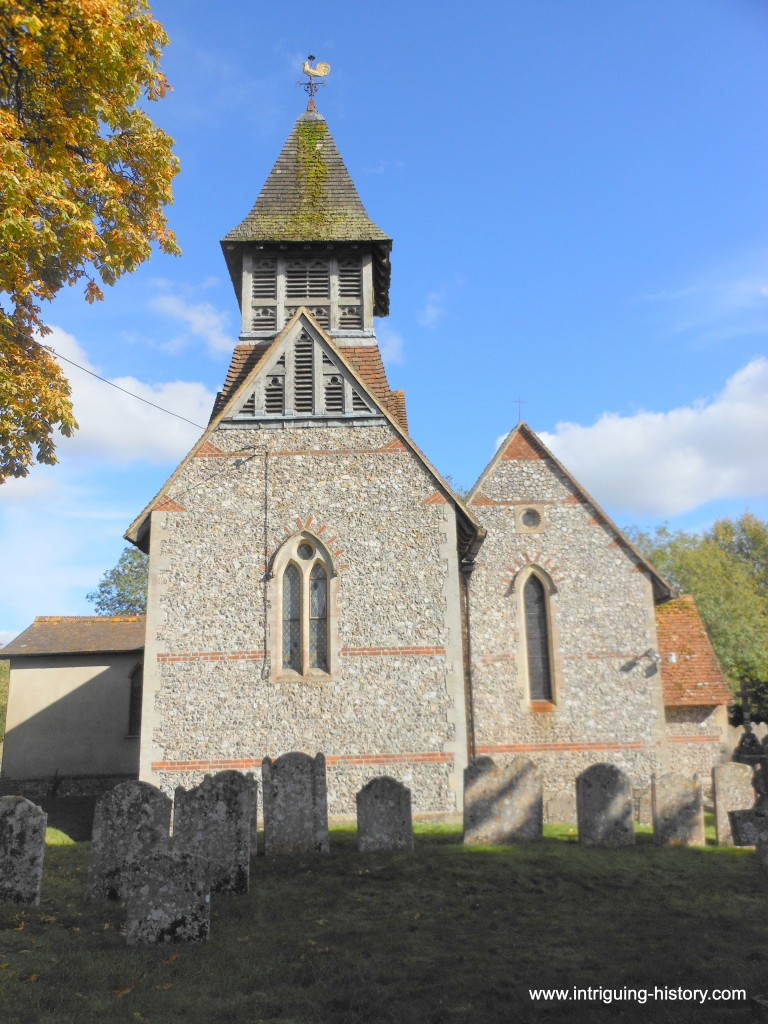 St Michael and All Angels Wyhill Hampshire