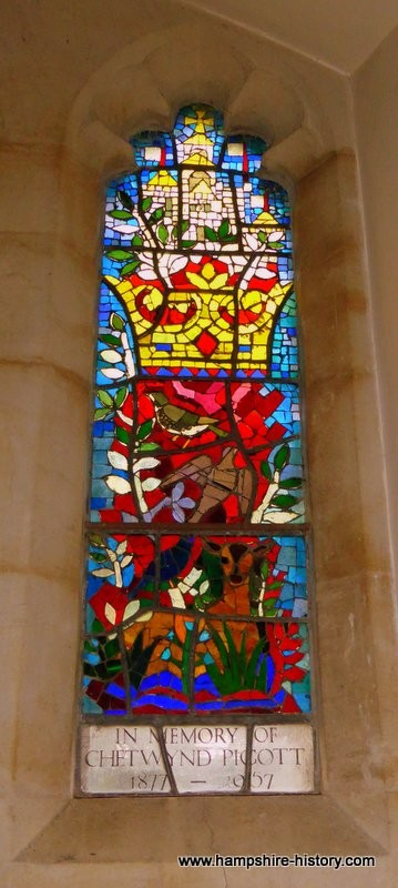 Ellisfield church stained glass
