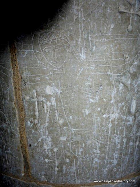 Kings Somborne church carvings