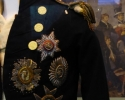 Nelson's Jacket with musket hole