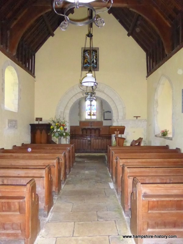 Nave Hartley Mauditt church