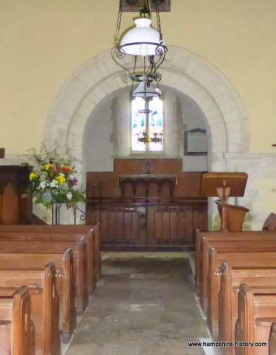 St Leonard's church Hartley Mauditt