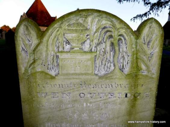 Hampshire headstones and memorials