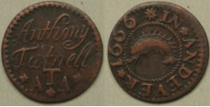 Hampshire trade tokens