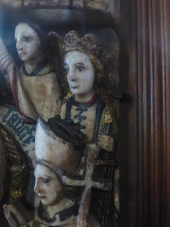 St John Baptist alabaster