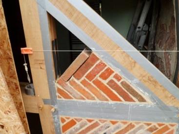 Herringbone panels repair
