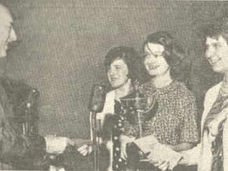British Girls 1963 Joint Chess Champions, Marcia Syme, Dinah Dobson and Gillian Moore
