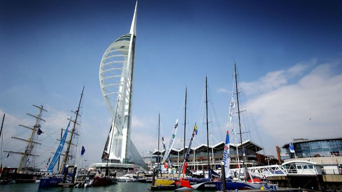 Spinnaker Tower at Portsmouth, UK