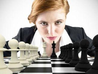 Chess Woman