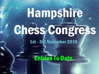 Hampshire Chess Congress Entry List