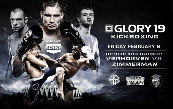 Glory Kickboxing Hampton Coliseum