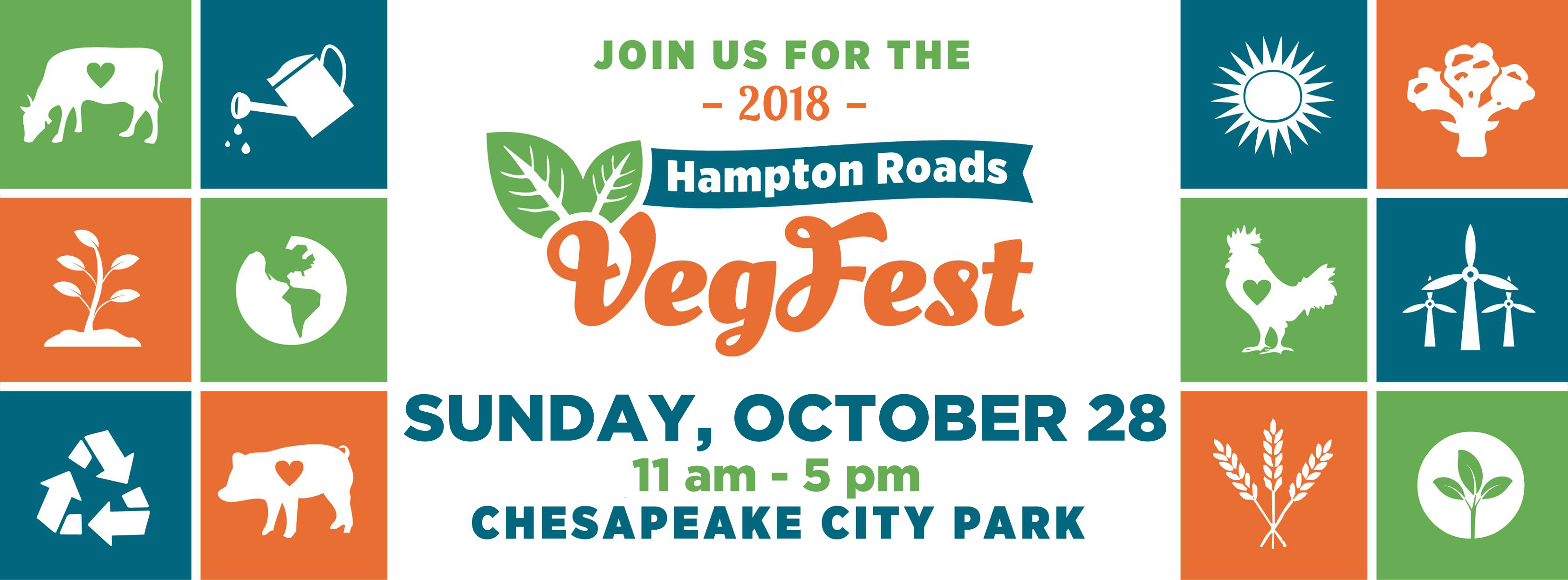 Announcing the 2018 Hampton Roads VegFest!