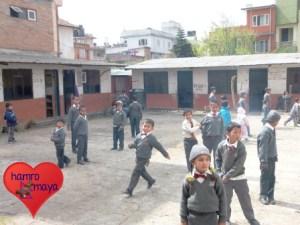 Die kleine Primärschule fusionierte mit einer größeren Schule.