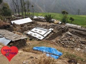 In Sindhupalchowk ist noch vieles zerstört.