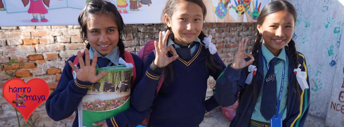 Patenschaften für Kinder in Nepal übernehmen.
