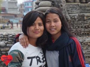 Sabina und Samjhana