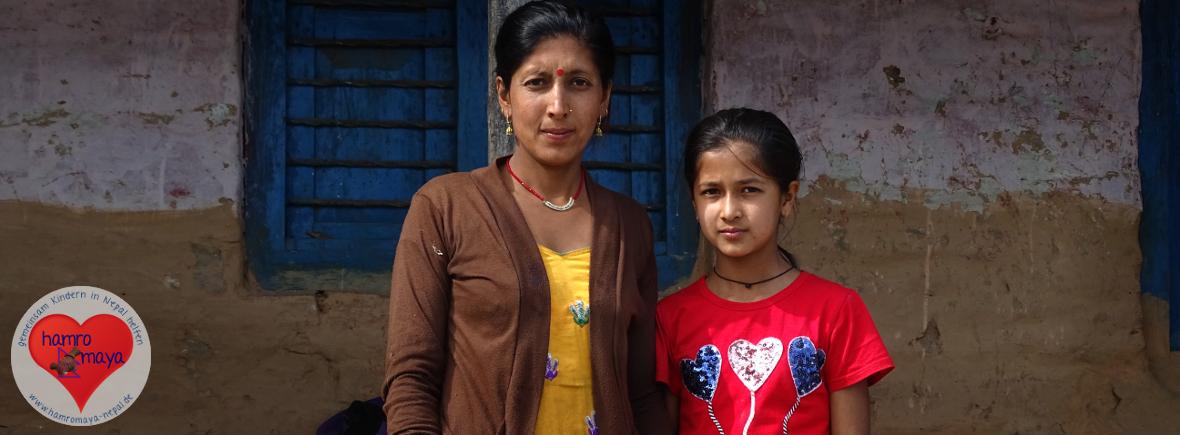 Wir fördern die Bildung von Isha Subedi in Dhampus.