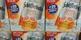 Schöfferhofer Weizen-Mix Grapefruit - Party Pack