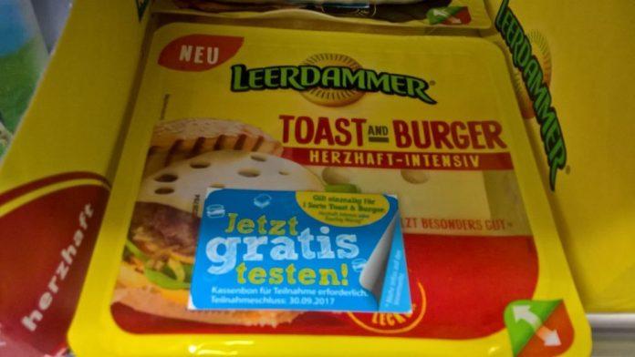 Leerdammer Toast and Burger