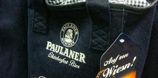 Paulaner Oktoberfest-Bier mit Filztascherl