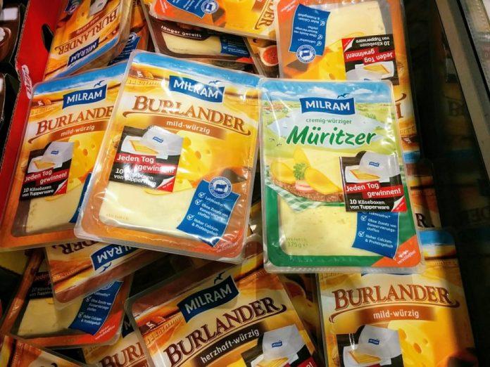 Milram Käse Tupperware
