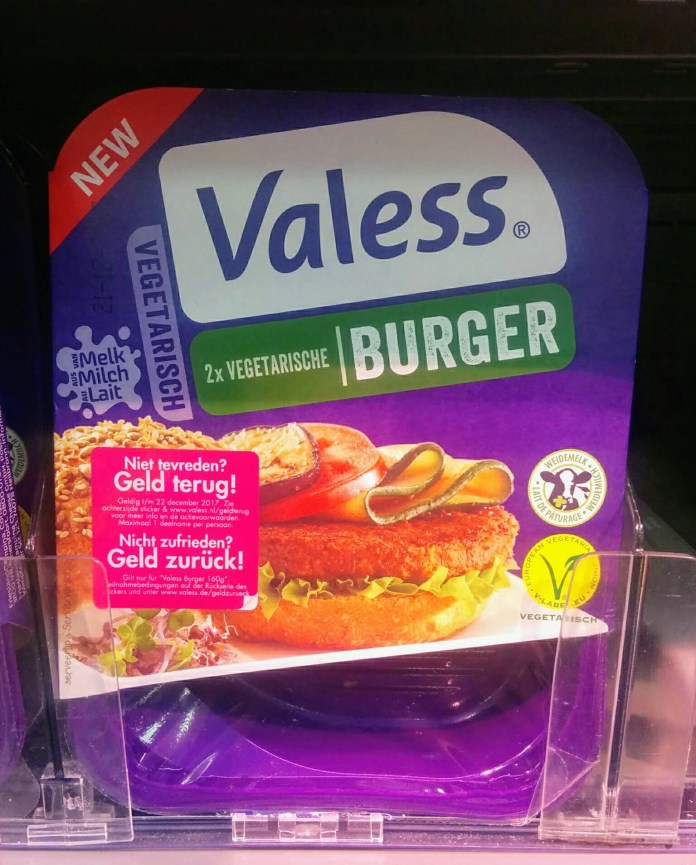 Valess Burger vegetarisch
