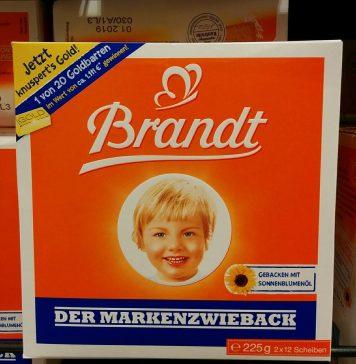 Brandt Markenzwieback - Goldbarren