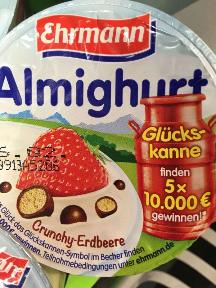 Ehrmann Almighurt - Glückskanne