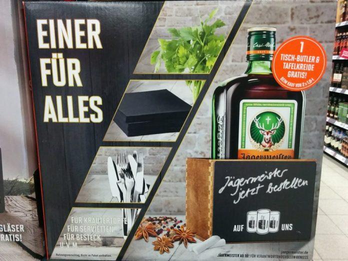 Jägermeister - Tisch-Butler, Tafelkreide