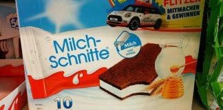 Milch-Schnitte - Pausenflitzer