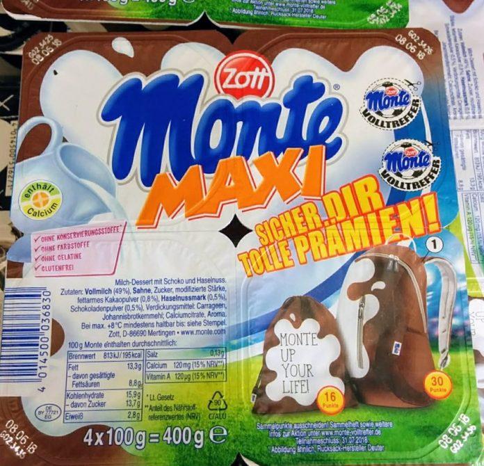 Zott Monte - Volltreffer